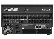 Yamaha Ql1 Digital Audio Mixer Audio Visual Events Hire