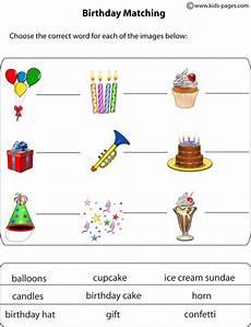 birthday object worksheet 20250 happy birthday worksheet