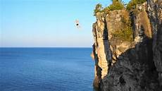 cing hiking and cliff diving in tobermory jetlag