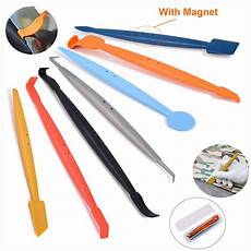 ehdis 7pcs car sticker styling tool vinyl decal sheet wrap magnetic squeegee edge auto