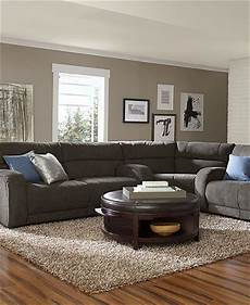 Farbe Taupe Bilder - color combination taupe wall brown sectional wood