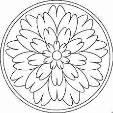 Malvorlagen Gratis Lengkap Mandala Viele Bluetenblaetter Ausmalbild Malvorlage