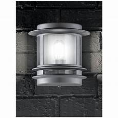 outdoor wall light flush franklite ext6211 barbican silver outdoor flush wall light