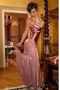 pink satin and chiffon and pink high heels fashion bare essentials