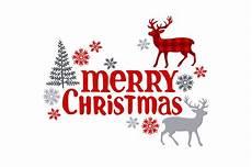 merry christmas christmas deer christmas tree and snowflakes by ewa new thehungryjpeg com