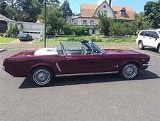 Cars  1965 Ford Mustang Convertible 289