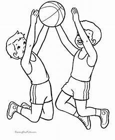 basketball color page to print coloring pages activities sports coloring pages coloring