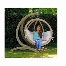 fauteuil suspendu avec support amazonas fauteuil suspendu globo chair natura avec