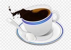 Clipart Coffee Gambar Cangkir Kopi Tumpah Png