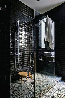 Black Tile Bathroom Ideas Top 60 Best Black Bathroom Ideas Interior Designs