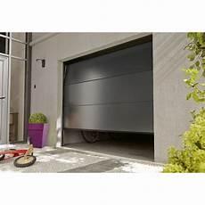 Porte De Garage Sectionnelle Motoris 233 E Aluminium