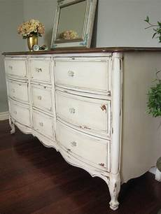 Shabby Chic Look - antiqued dresser