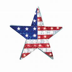 collections etc patriotic lighted star wall decor
