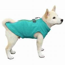 gooby coats gooby zip up fleece vest turquoise baxterboo