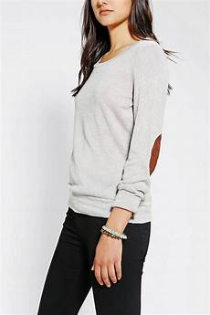 outfitters glamorous slub patch shirt in gray