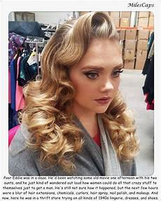 sissy boys with long hairstyles k 233 ptal 225 latok a k 246 vetkezőre feminization hair rollers and curlers retro hairstyles permed