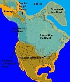laurentide ice sheet history historical maps