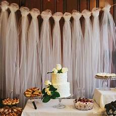 100 yards tulle wedding backdrop wedding decoration 15cm tulle roll outdoor ceremony