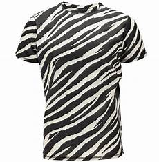 sublimation t shirt with all zebra print buy