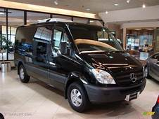 2010 Black Mercedes Benz Sprinter 2500 Passenger Van