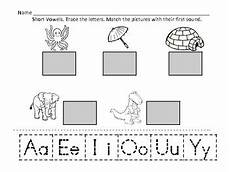 vowel letters worksheets for preschool 23657 vowels vowels and cut on