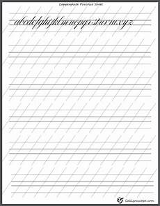 4 free printable calligraphy practice sheets pdf download