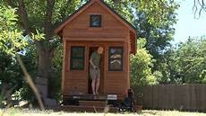 debt car free tiny house couple simple living