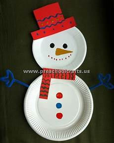Basteln Weihnachten Kindergarten - snowman crafts celebration all