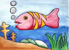 Gambar Ikan Laut Animasi Korea Meme Lucu Bergerak