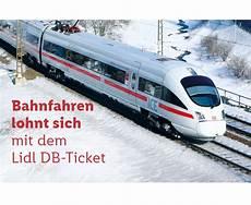 Lidl Db Ticket Bahn Gutschein F 252 R 2 Fahrten Innerhalb