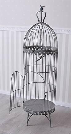 gabbia uccello gigante gabbia per uccelli metallo voliera vintage antico