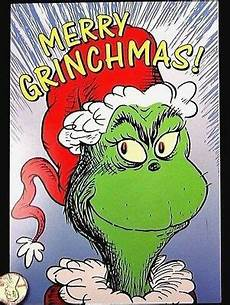 dr seuss merry grinchmas who how the grinch stole christmas greeting card new ebay