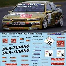 opel vectra mlk tuning tailormadedecals