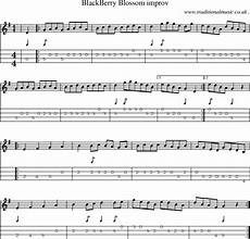 american old time music scores and tabs for mandolin blackberry blossom improv