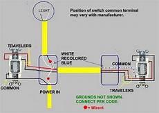 3 way switch working but not the single pole need help doityourself com community