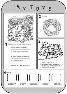 worksheets colors and toys 12707 toys worksheet free esl printable worksheets made by teachers