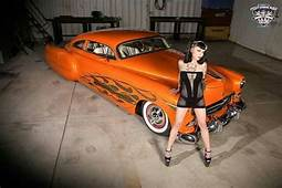 Orange Dream With Hot Pin Up  Cool Voitures Motos