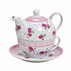 tea for one teekanne mit tasse quot quot geschenkidee at