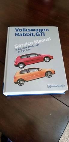 service and repair manuals 2009 volkswagen rabbit lane departure warning vwvortex com fs bentley service manual volkswagen rabbit gti 2006 2009