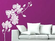 wandtattoo orchidee wandtattoo orchideen zweig bei homesticker de