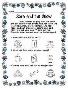 winter reading worksheets 20078 winter reading comprehension worksheets by diversity tpt