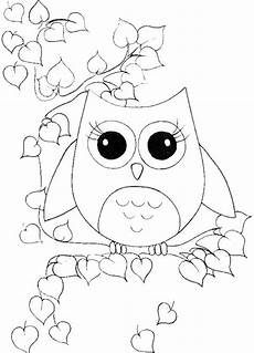owls pictures of puppets coloring pages