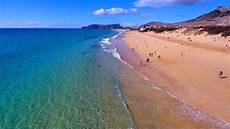 porto santo beach aerial view 4k ultra hd youtube