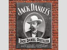 Jack Daniels, Distiller Vintage Tin Sign