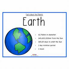 facts about the planets science ks1 ks2