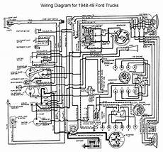 1950 ford custom wiring diagram 1948 1950 ford truck herter wiring diagram