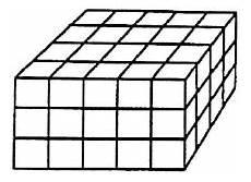Pembahasan Balok Dicat Un Smp 2017 Matematika Paket 1