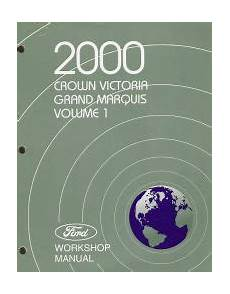 small engine service manuals 2011 ford crown victoria electronic toll collection 2000 ford crown victoria mercury grand marquis workshop manual 226 ˆš 2 volume set