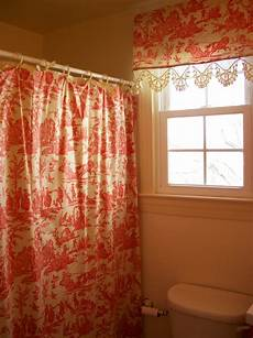 Matching Window And Shower Curtains