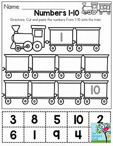 learning numbers worksheets 18743 cut and paste numbers 1 10 you could use this as a one time activity or laminate it and use it